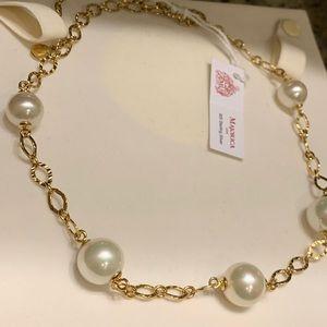 Jewelry - Majorica! Pearl Collar Necklace !